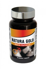 Natura Gold (60 gélules) : Sperm optimizer, booste la fertilité, améliore les capacités érectiles, stimule la libido et l'énergie sexuelle.