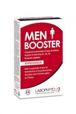 Men booster (60 gélules) : Complément alimentaire aphrodisiaque qui stimule le désir sexuel chez l'homme.