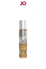 Lubrifiant aromatisé vanille 30 ml : Lubrifiant aromatisé comestible parfum vanille au format 30 ml de la marque Américaine System Jo.