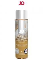 Lubrifiant aromatisé vanille 120 ml : Lubrifiant de la marque System Jo, fabriqué aux USA. Ce lubrifiant au format 30 ml est parfumé au goût de vanille. Caractéristiques:- Lubrifiant intime à base d'eau- Comestible- Plusieurs parfums différents- Compatible avec les préservatifs- Facile à nettoyer- Sans sucre ajouté ni édulcorant- Sans colorant- Bouteille souple de 30 ml.- Composition: à base de glycérine végétale pure et d'extraits d'arômes naturels- Fabriqué aux USA- Marque: System Jo