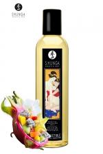 Huile de massage érotique - Fusion d'Asie : Huile de massage érotique Irrésistible au parfum fusion d'Asie pour éveiller les sens et la réceptivité amoureuse, par Shunga.