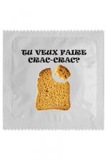 Préservatif humour - Crac Crac : Préservatif  Crac Crac, un préservatif personnalisé humoristique de qualité, fabriqué en France, marque Callvin.