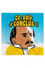 Préservatif humour - Ce Soir Je Conclus : Préservatif Ce Soir Je Conclus, un préservatif personnalisé humoristique de qualité, fabriqué en France, marque Callvin.