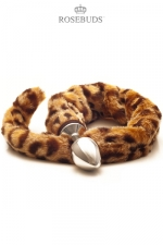 Rosebud Leopard : Un rosebud pour révélez le fauve qui sommeille en vous.